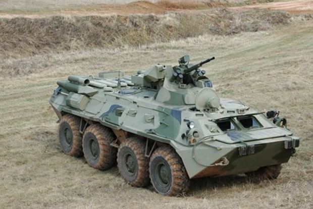 Российские военные угнали у сослуживцев БТР