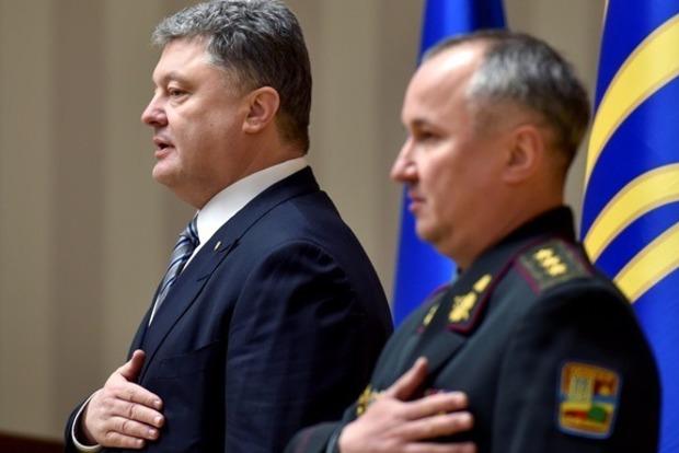 Порошенко не возложил цветы к памятнику Шевченко в Киеве