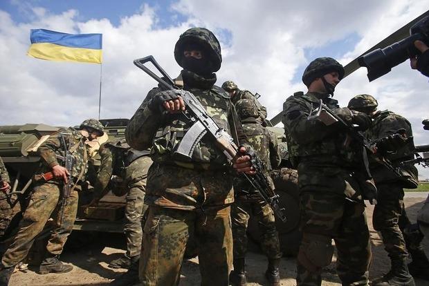 Боевики прибегли к массированному обстрелу из тяжелых минометов в районе Донецка