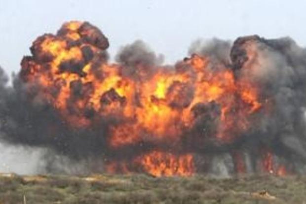 Под Донецком снова слышны взрывы