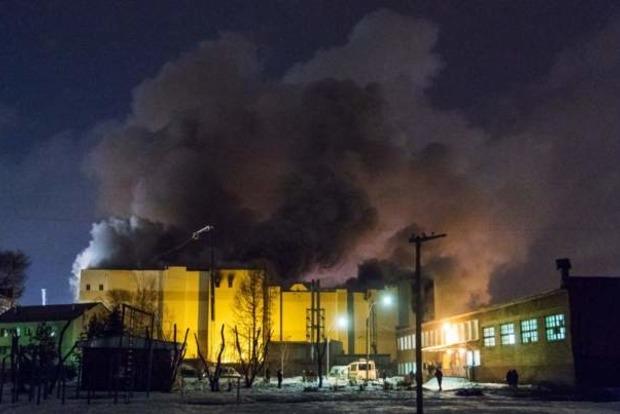 Востриков показал видео первых минут пожара в «Зимней вишне»