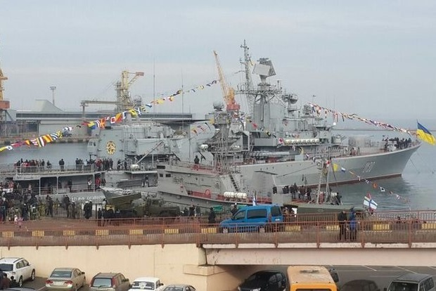 Флагман Гетьман Сагайдачный сломался сразу после ремонта. ГПУ подала в суд на подрядчика