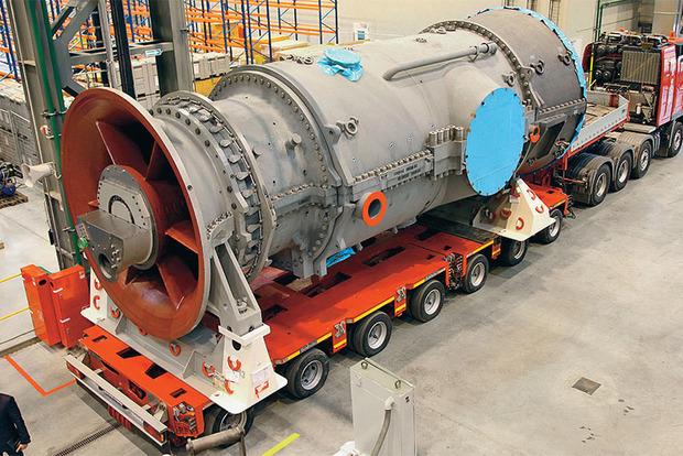 Reuters: В порт Феодосии прибыли еще две газовые турбины