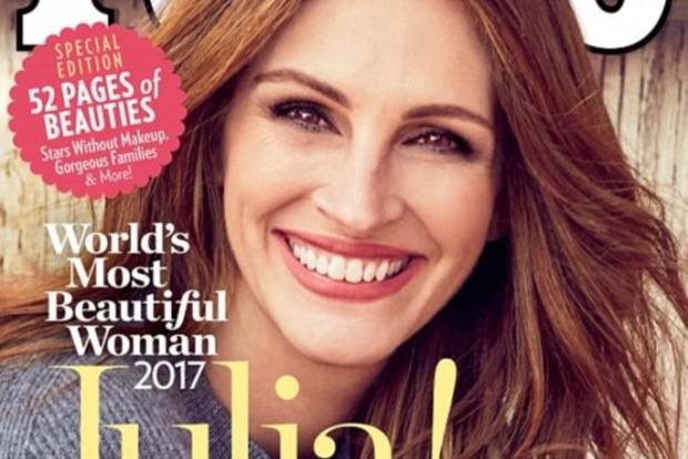 49-летняя Джулия Робертс в пятый раз стала самой красивой женщиной мира