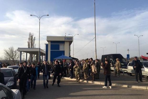 Активисты перекрывали трассу «Киев – Одесса»