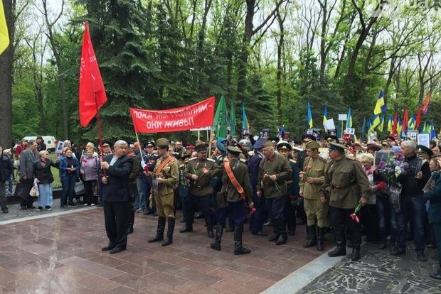 В Харькове возле Мемориала Славы произошла потасовка