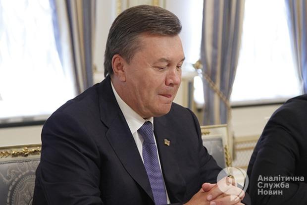 Швейцария продлила арест счетов Януковича