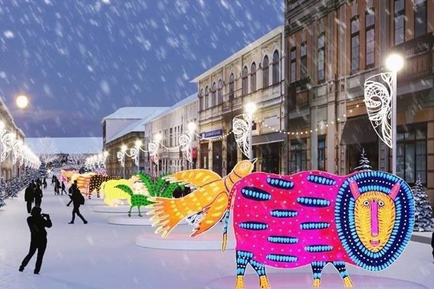 Организаторы показали, как будет выглядеть Киев новогодний