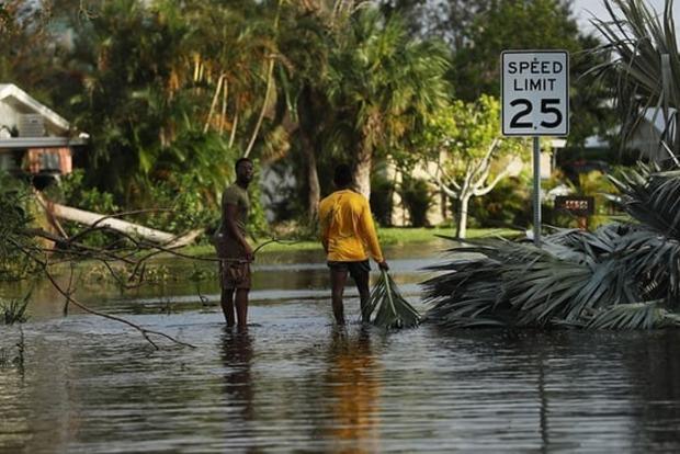 Власти США и Кубы подсчитывают колоссальный ущерб от урагана «Ирма»