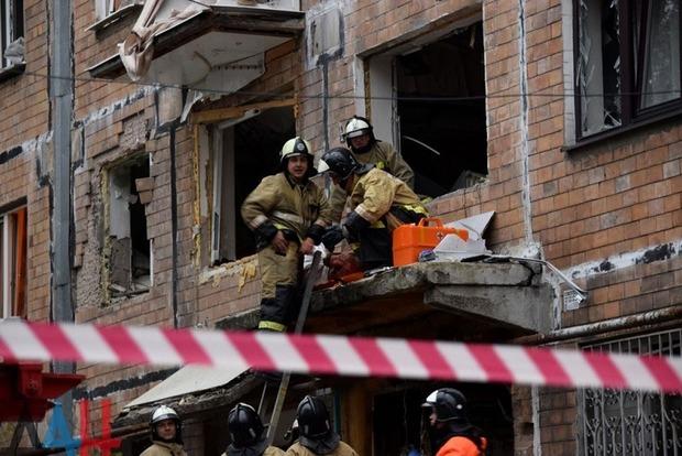Опубликованы первые видео последствий взрыва в Донецке