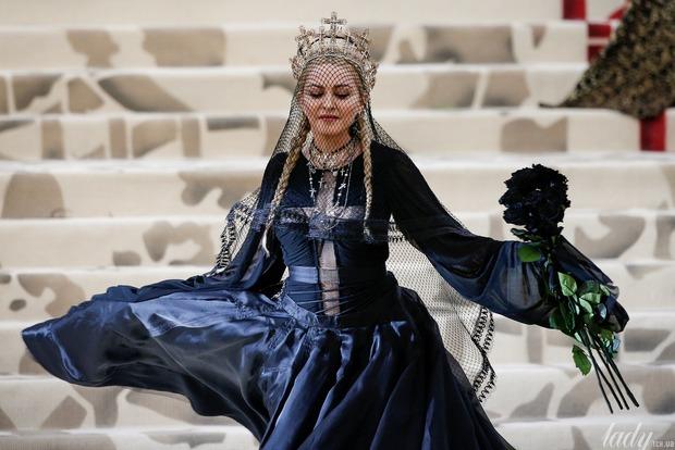 Мадонна виклала в Мережу свій приголомшливий виступ на Met Gala 2018