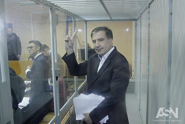 Саакашвили: Янесчитаю себя задержанным, ясчитаю себя военнопленным