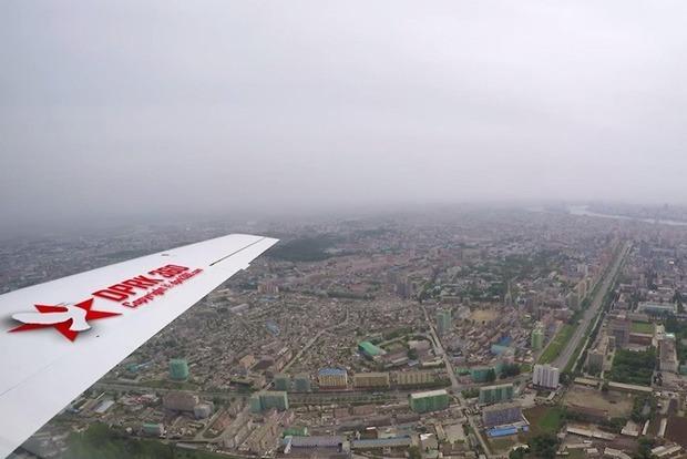 Фотограф показал столицу КНДР с высоты: появилось редкое видео