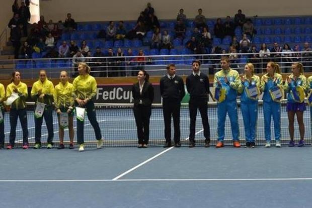 Украинские теннисистки разгромили сборную Австралии в Кубке Федерации