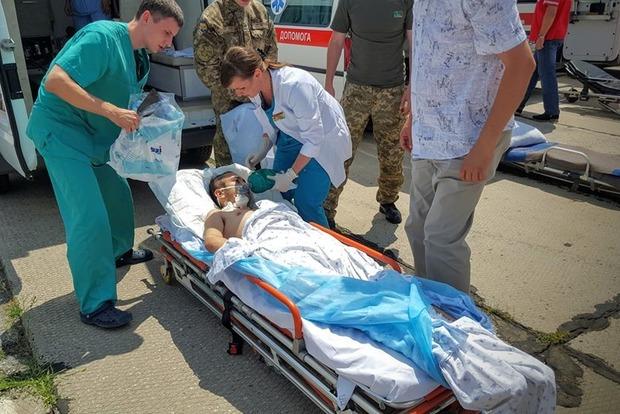 В Минобороны сообщили количество раненых военных за сутки в АТО