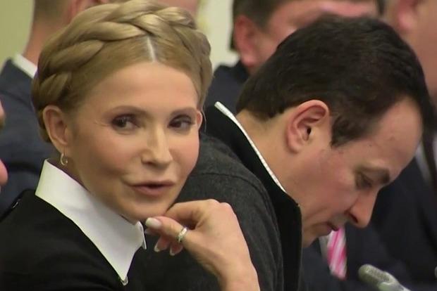 Ультиматум Тимошенко были вынуждены поддержать главы фракций
