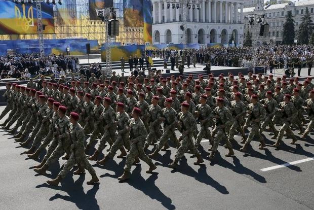 Военный парад пройдет в столице на День Независимости