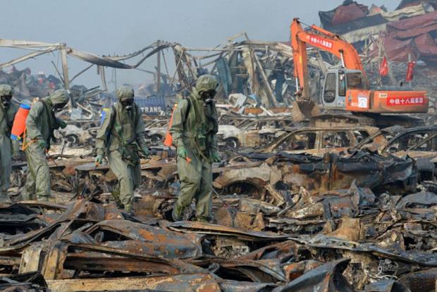 700 жертв: зросла кількість жертв вибуху на хімзаводі в Китаї