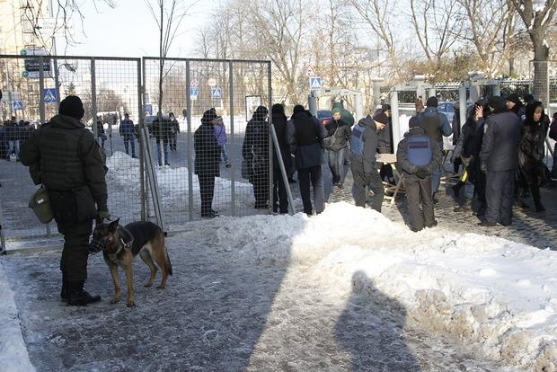 Центр Киева будут охранять 800 полицейских и нацгвардейцев