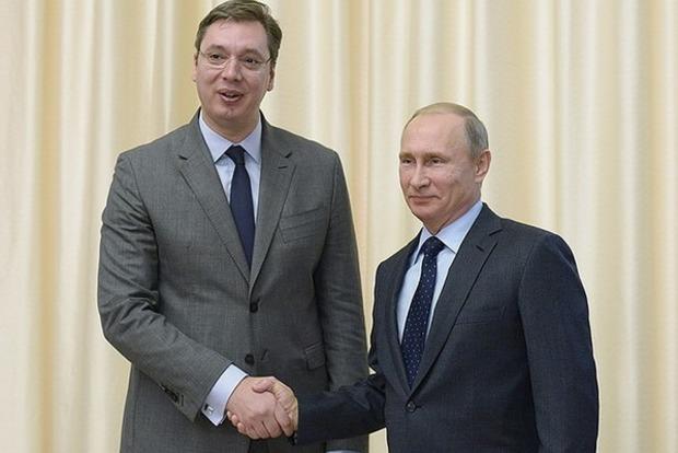Президент Сербии попросит совет у Путина относительно обострения ситуации в Косово
