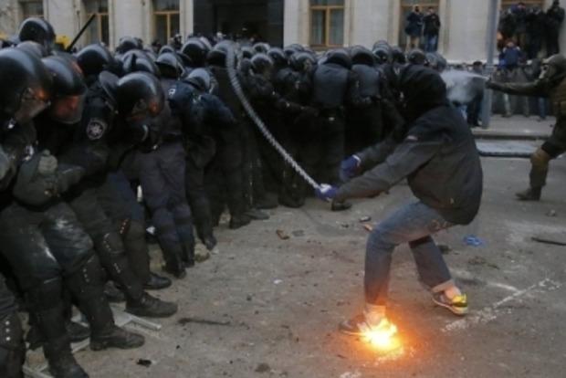 ГПУ: Во время Евромайдана среди протестующих на Банковой были провокаторы