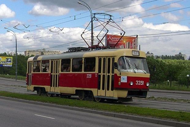 В Киеве трамвай задавил пешехода