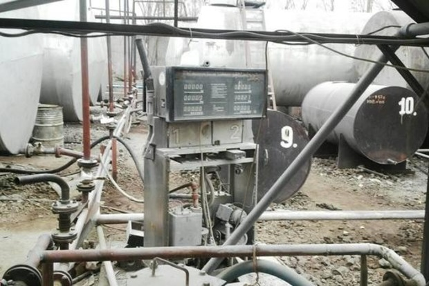 В Днепропетровской области найден подпольный нефтеперерабатывающий завод