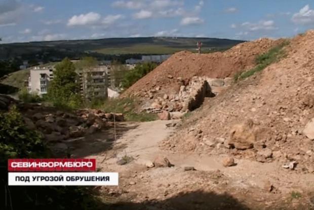 В оккупированном Севастополе могут обрушиться десятки домов
