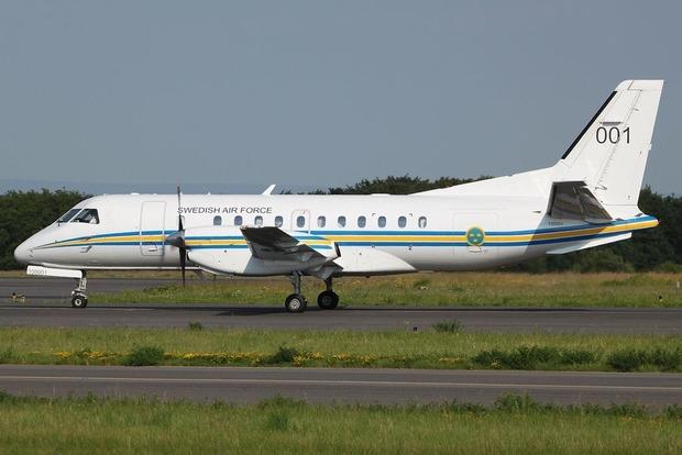 Самолет ВВС Швеции совершит наблюдательный полет над Украиной