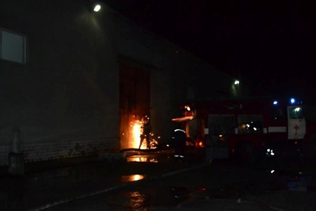 Масштабный пожар в Одессе тушили 90 пожарных