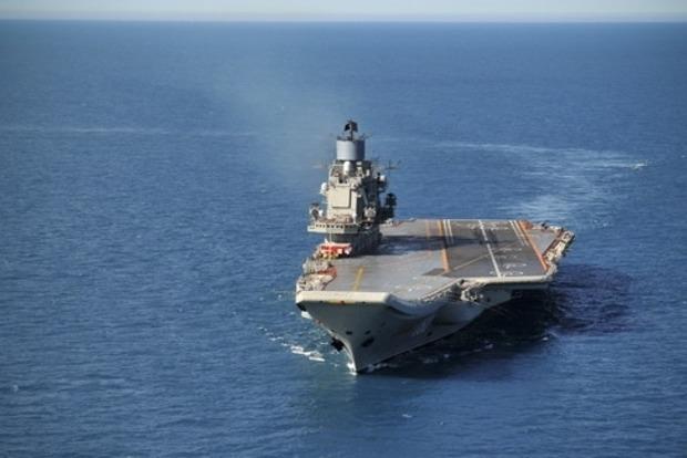 Очередной истребитель разбился при попытке сесть на «Адмирал Кузнецов» - СМИ