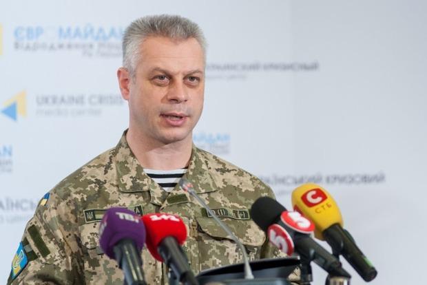 За сутки ранены семь украинских военных