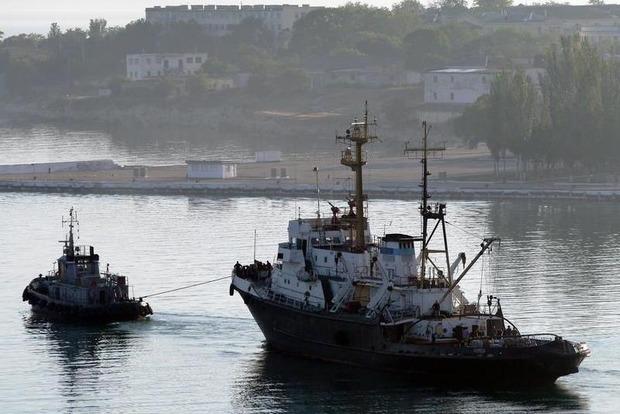 Россия с мая намерена перекрыть доступ украинским кораблям к Черному морю