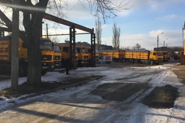 СБУ нашла 50 грузовиков, украденных из белорусского завода МАЗ
