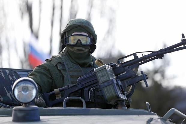 На Донбассе находится 5,5 тыс кадровых военных РФ и 30 тысяч членов группировок - МО