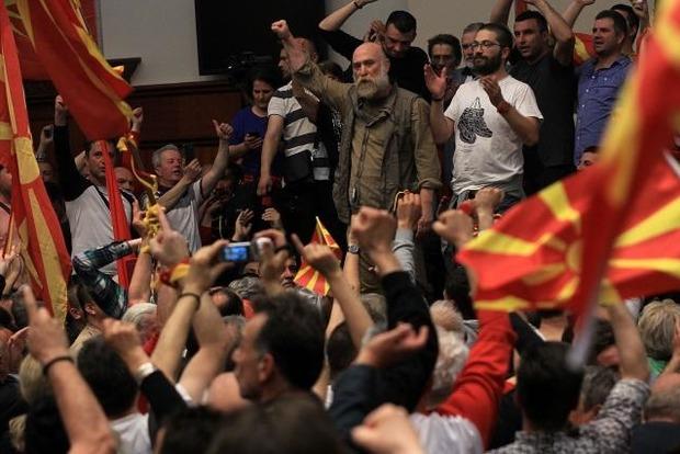Парламент Македонии поддержал переименование страны