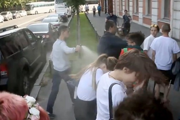 Хіматака на ЛГБТ-активістів у Пітері. Опубліковано відео
