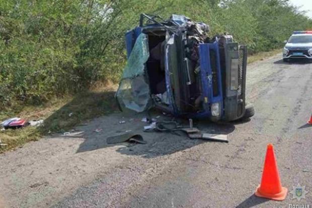 Под Запорожьем пьяный водитель устроил смертельное ДТП, в котором погиб полицейский