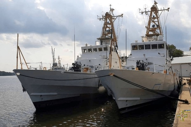 СМИ показали, как выглядят военные катера Island, переданные США Украине