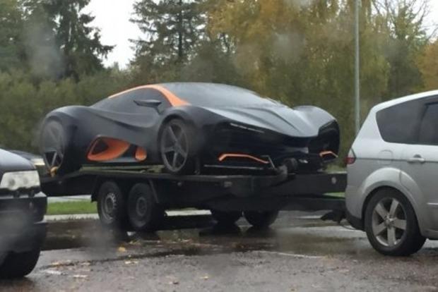 Первый украинский суперкар за €700 тысяч заметили в Латвии