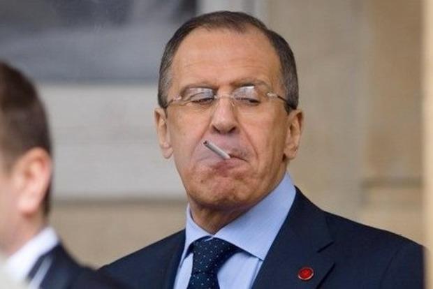 Очередной перл от Лаврова: Украина сама на себя напала