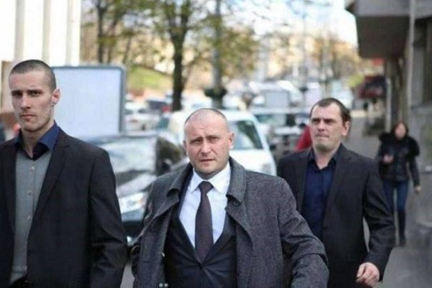 Экс-охранника Яроша в РФ посадили в СИЗО за «преступления»