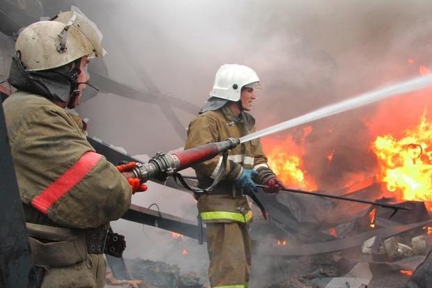 В Москве потушили крупнейший за девять лет пожар