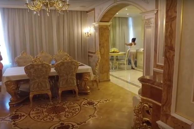 Жена иностранного игрока Шахтера похвасталась неприлично богатой квартирой в Киеве
