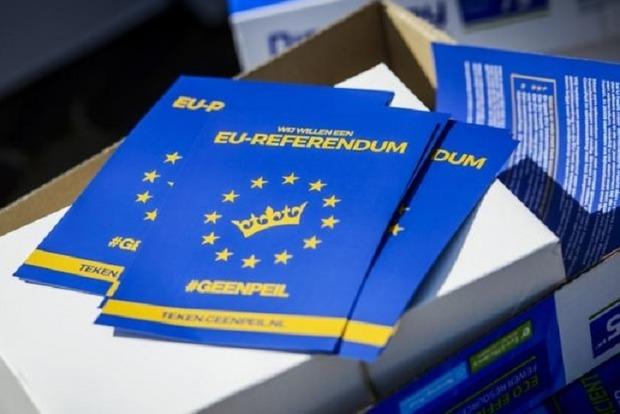 Россияне повлияли на референдум об ассоциации Украина - ЕС в Нидерландах – СМИ