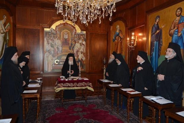 Томос для України: почався Синод Вселенського патріархату в Стамбулі