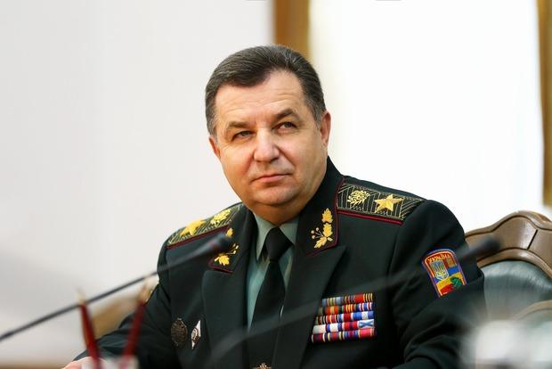 Полторак хочет активизировать оборонное сотрудничество с Германией