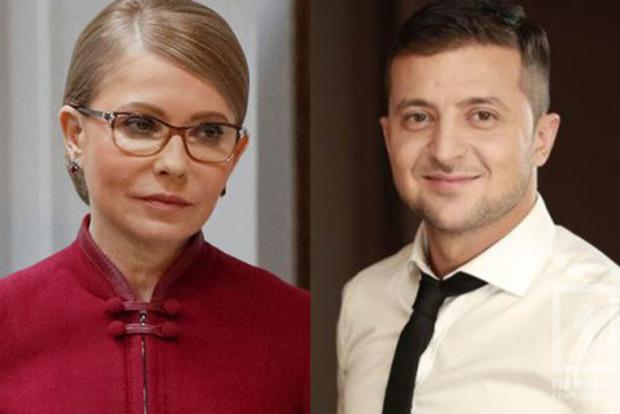 Приходите со своим пианино. Тимошенко потролила Зеленского за сладкие места