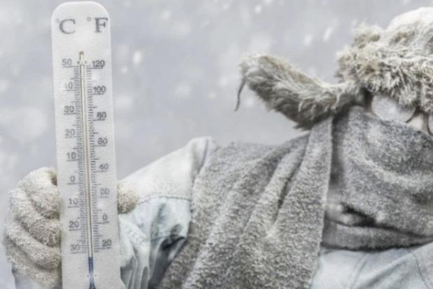 Аномально холодна зима прийшла в Україну з Рождества. Ожидають до мінус 20 градусів