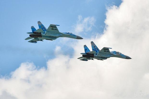 В Винницкой области разбился истребитель Су-27. Погибли американский и украинский пилоты